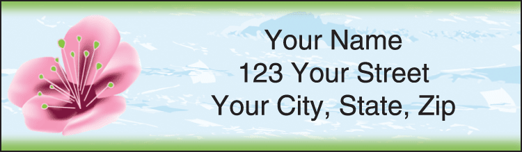 Zen Garden Address Labels - click to view larger image