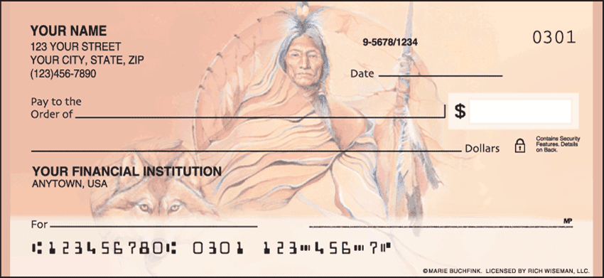 American Indians Checks - click to preview