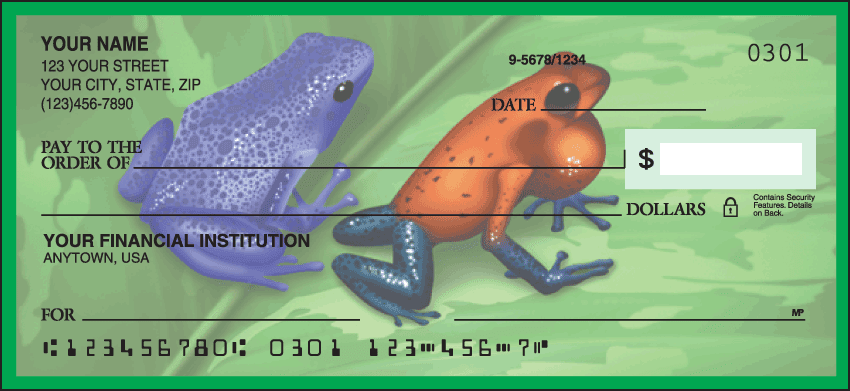 Frogs Checks - click to preview