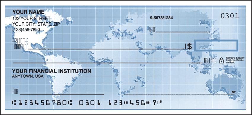 Globe Checks - click to view larger image