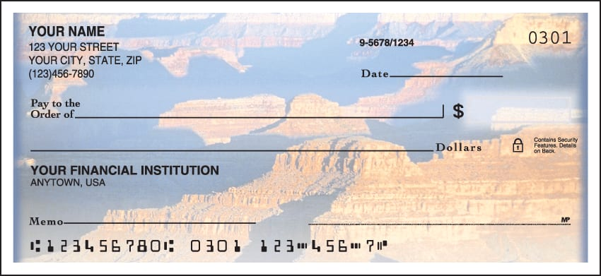 Enlarged view of Grand Canyon Checks