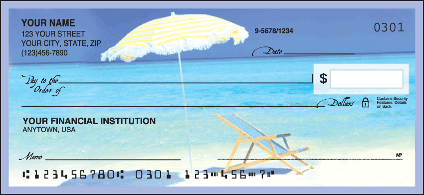 Island Paradise Checks - click to preview