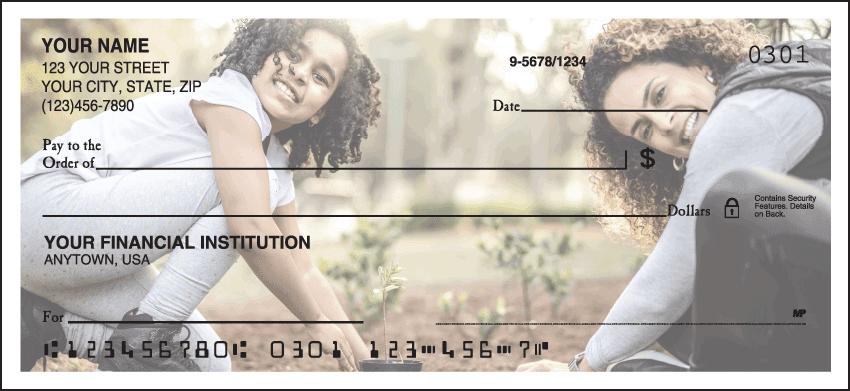 Custom Photo Checks Rotating Series - click to preview