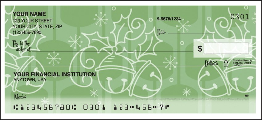 Retro Christmas Checks - click to preview