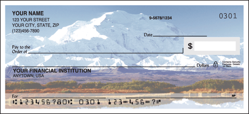 Enlarged view of Scenic America Checks