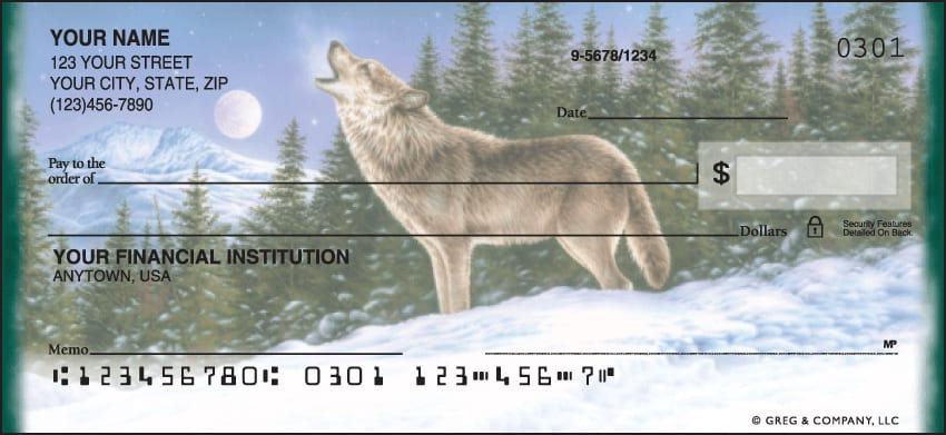 Wolves Checks - click to view larger image