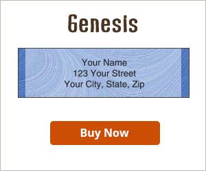 Genesis Address Labels