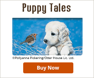 Puppy Tales Checkbook Cover