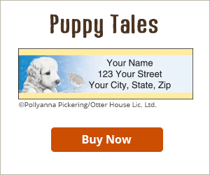 Puppy Tales Address Labels