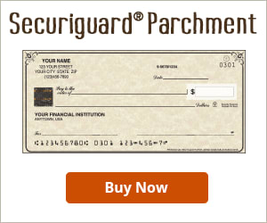 Securiguard Parchment Checks