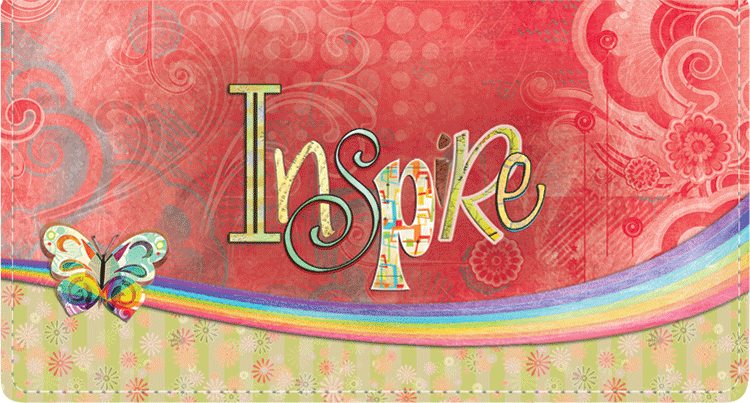 Simple Expressions Fabric Checkbook Cover