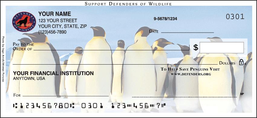 Defenders of Wildlife - Penguins Checks - 1 box - Singles
