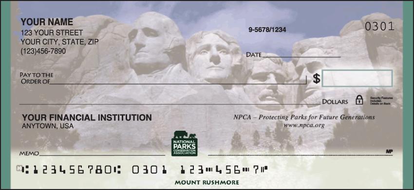 National Parks Conservation Association Checks - 1 box - Duplicates